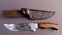 Нож охотничий Олень Б из кожаным чехлом