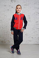 Детский  спортивный  костюм  материал-трикотаж трёхнитка