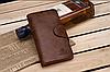 Стильные портмоне-клатч мужское кожаное CarWallet