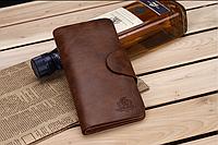 Стильные портмоне-клатч мужское кожаное CarWallet, фото 1