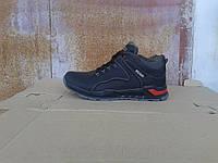 Кожаные зимние мужские ботинки ECCO