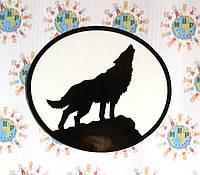 Наклейка на автомобиль Воющий волк