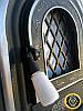 Печная дверца со стеклом Олени, чугунные дверки для печи и барбекю, фото 4