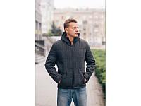 Мужское стёганное кашемировое пальто (46,48,50,52,54)