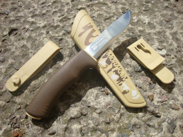 Нож MORA Bushcraft Desert Camo (11832)