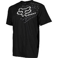 Футболка FOX Giant Dirt Shirt черная, S