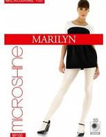 Блискучі щільні колготки Marilyn Microshine 100