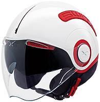 "Шлем Nexx SX.10 white\red  ""M"", арт. 01SX104002"