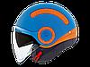 "Шлем Nexx SX.10 blue\orange  ""L"", арт. 01SX134008"