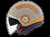 """Шлем Nexx SX.10 yellow/beige  """"M"""", арт. 01SX140007"""