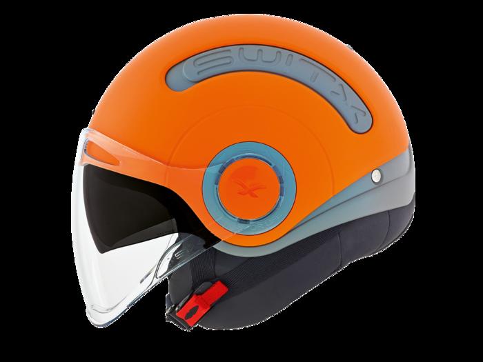 """Шлем Nexx SX.10 grey\orange  """"L"""", арт. 01SX152010000"""