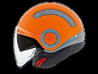 """Шлем Nexx SX.10 grey\orange  """"S"""", арт. 01SX152010000"""