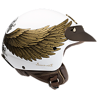 "Шлем Nexx  X60 EAGLE RIDER White/Gold  ""XXL"", арт. 01X6000115"