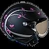 """Шлем Nexx  X60 QUEEN black/soft  """"S"""", арт. 01X6001037"""