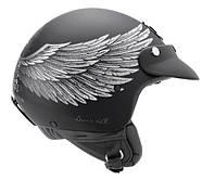 "Шлем Nexx  X60 EAGLE RIDER Black/Silver  ""M"", арт. 01X6001114"