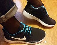 Кроссовки в стиле NIKE dark blue, р.36-41, фото 1