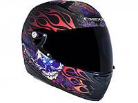 """Шлем Nexx  XR1.R INVADER  TATTOO BLACK """"M"""", арт. 01XR101026"""