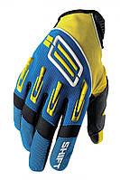 Мото перчатки SHIFT Pro Strike желто синие, M (9)