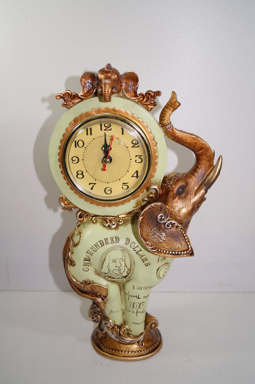 Сувениры слоны с часами