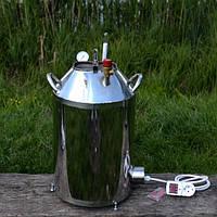 Автоклав электрический, газовый 40л (30 банок 0,5л). Нержавейка