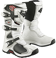Детские мотоботы FOX Comp 5 Youth Boys MX Boot [White] , 8