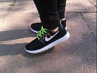 Кроссовки в стиле NIKE black/green, р.36-41, фото 1