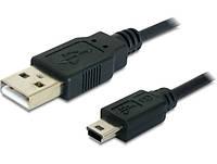 Кабель mini USB, чорний