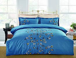 Полуторный комплект постельного белья Вуаль