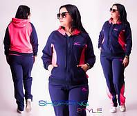 Спортивный костюм для пышных девушек 4 цвета