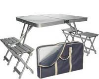 """Комплект мебели для пикника «""""Стол+ 4 стульчика Voyager TA-400"""