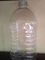 Пластиковая бутылка 4 л