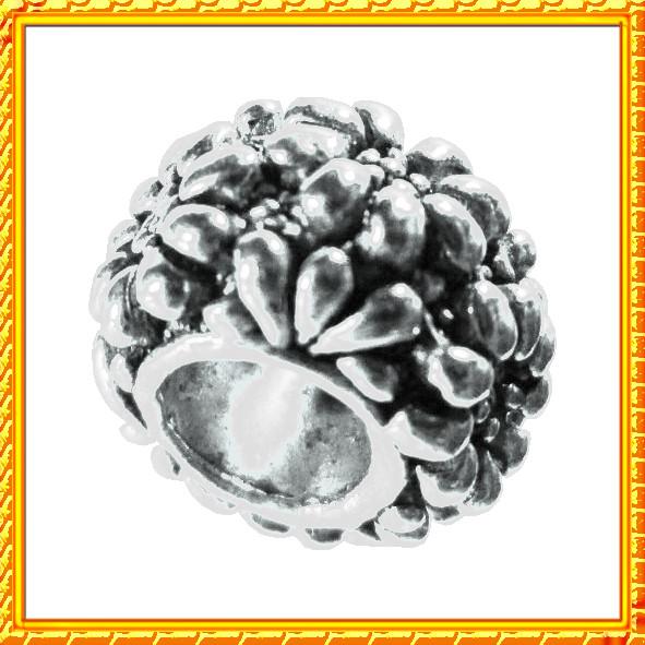 Новое Поступление по Оптовым Ценам: Бусины Шармы в стиле Пандора, Цвет: Серебро.