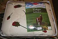 Одеяло ТМ  Теп   из овечьей шерсти   в сатине  полуторка