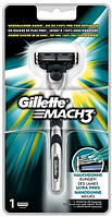 Gillette Mach 3 станок с одной кассетой