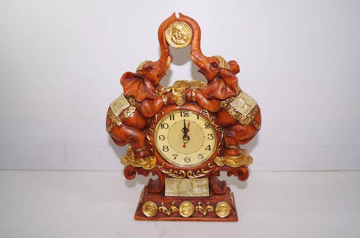 Сувениры слоны с часами, фото 2