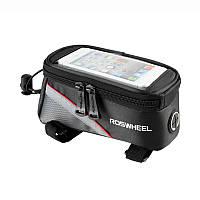 Велосипедная сумка 5.5 Roswheel велосумка на раму L Red-Black