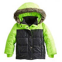 Куртка зимняя мальчик OshKosh салатовая (b214e08)