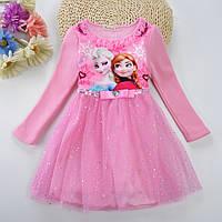 Платье детское нарядное Холодное сердце