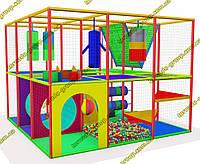"""Детский игровой лабиринт для помещения """"3 на 3"""" , фото 1"""