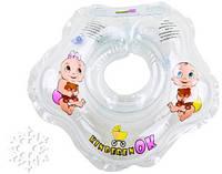 Круг для купания Kinderenok Снежинка  2-20кг