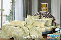 Неброский комплект постельного белья ранфорс Вилюта