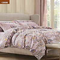 Красивый постельный комплект ранфорс Вилюта