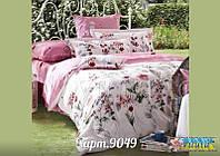 Нежно розовый комплект постельного белья ранфорс Вилюта