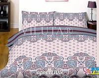 Красивый  комплект постельного белья Вилюта ранфорс платинум