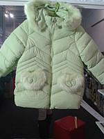 Зимняя детская курточка