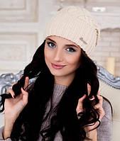 Женская шапка Braxton Аврора бежевая