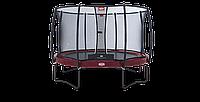 Батут Berg Elite+ Regular Red 380 + защитная сетка Safety Net T-series 380
