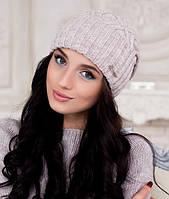 """Женская шапка Braxton Аврора цвет """"светлый кофе"""""""