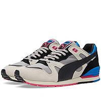 Оригинальные  кроссовки Puma Duplex OG Black & High Risk Red