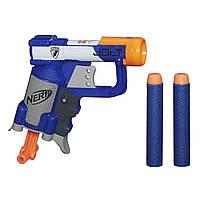 Nerf Бластер Элит Джолт синий N-Strike Jolt Blaster blue